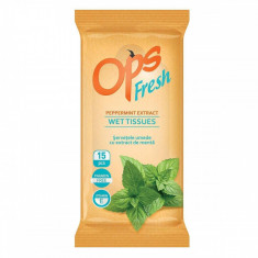 OPS servetele Fresh calatorie menta 15buc