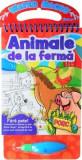 Cumpara ieftin Animale de la fermă. Colorăm cu carioca cu apă