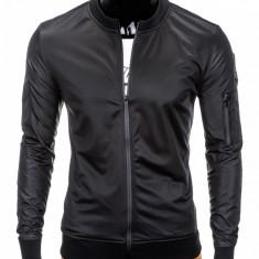 Jacheta pentru barbati slim fit casual negru B749