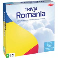 Joc de societate Trivia Romania, 400 carti de joc, 2400 intrebari, 12 ani+