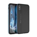 Husa Ipaky Bumblebee Neagru cu Albastru Pentru Iphone X