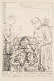 Tablou grafica Traian Bradean - Medicii