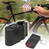 Sistem de Alarma pentru Bicicleta, Scuter sau ATV cu Telecomanda, Sirena 110dB si Senzor de Miscare