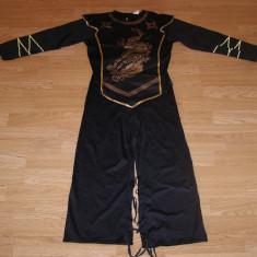 Costum carnaval serbare ninja pentru copii de 12-13-14 ani, Masura unica, Din imagine
