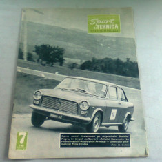 REVISTA SPORT SI TEHNICA NR.7/1966