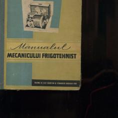 I. Culinescu; D. Vieru  Manualul mecanicului frigotehnist