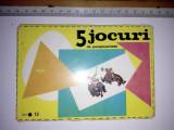 Cumpara ieftin JOC VECHI ROMANESC - 5 JOCURI DE PERSPICACITATE