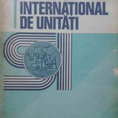SISTEMUL INTERNATIONAL DE UNITATI (SI) - BIROUL INTERNATIONAL DE MASURI SI UNITA