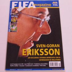 Revista - Magazin oficial fotbal - FIFA (ianuarie 2006)