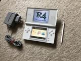 Nintendo DS LITE MODAT cu jocuri instalate card Zelda,Mario,5xPokemon