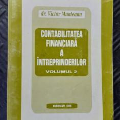 CONTABILITATEA  FINANCIARA  A INTREPRINDERILOR VICTOR MUNTEANU