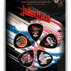 Set 5 pene pentru chitara - Judas Priest Turbo Plectrum Pack | Rock Off
