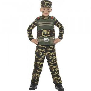 Costum Camuflaj Militar baieti 10-12 ani
