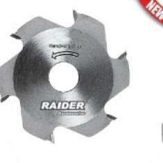 Disc pentru fierastrau imbinare biscuiti, Raider