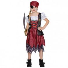 Costumatie Pirat Fetite 4-6 ani