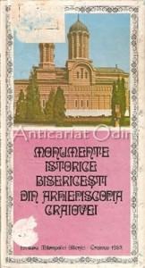 Monumente Istorice Bisericesti Din Arhiepiscopia Craiovei -Damaschin Severineanu