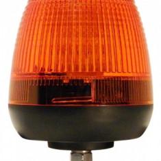 Girofar LED Galben cu 1 punct prindere