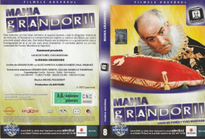 Mania grandorii cu Louis de Funes, Yves Montand_film pe DVD_colectia Adevarul