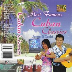 Caseta Jorge & Techi – Most Famous Cuban Classics, originala