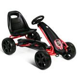 Kart cu pedale pentru copii Negru