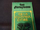 DE LA CLOVNUL CITIRE-ION FINTESTEANU-269 PG-