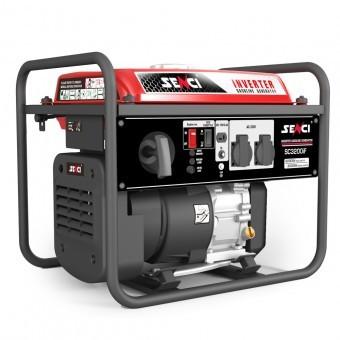 Generator inverter Senci SC-3200iF, 3.2 kW, 230V, AVR, 4 timpi, benzina foto