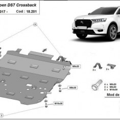 Scut motor metalic Citroen DS7 Crossback 2017-prezent
