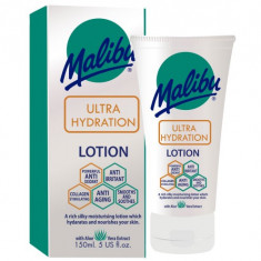 Lotiune After Sun Anti Age cu multiple beneficii MALIBU Ultra Hydration 150ml