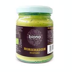 Mustar Cu Hrean Bio Biona 125gr Cod: 5032722306004