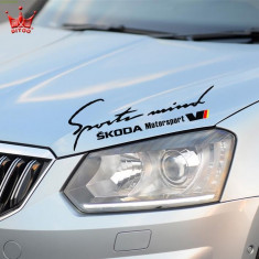 Sticker Sports Mind SKODA Motorsport