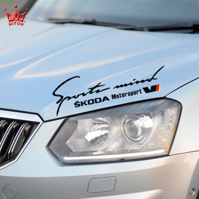 Sticker Sports Mind SKODA Motorsport foto