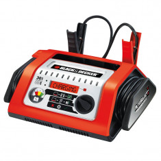 Redresor baterie auto Black Decker 12V 30A incarcator automat cu display digital indicator incarcare
