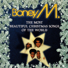 CD Boney M. ‎– The Most Beautiful Christmas Songs Of The World, original