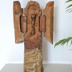 """Sculptura Sireteanu Gavril n.1967 - """"Heruvin"""""""