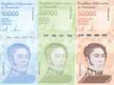 Bancnota Venezuela 10.000 - 50.000 Bolivares 2019 - PNew UNC ( set x3 )