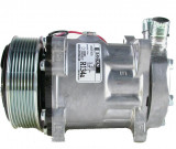 COMPRESOR SANDEN SD5S14, 2GA, 152MM, 12V, O-RING VERT