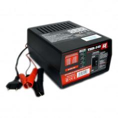Incarcator pentru baterii auto THR URZ0371, 12V/6V, 6A, protectie termica si la scurtcircuit