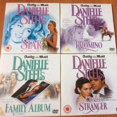 DANIELLE STEEL's COLLECTION - LOT 8 DVD FILME ORIGINALE