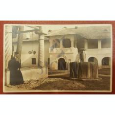 CARTE POSTALA, MANASTIREA COZIA, FISCHER SIBIU