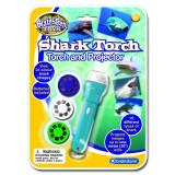 Proiector rechini Brainstorm Toys, 24 imagini, Albastru/Alb