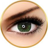 Cumpara ieftin Adore Crystal Green - lentile de contact colorate verzi trimestriale - 90 purtari (2 lentile/cutie)
