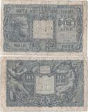 1944 (23 XI), 10 lire (P-32b) - Italia!