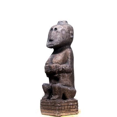 Statuie Stone Primitive Timor, M foto