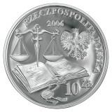 POLONIA 10  ZLOTI 2006 //ARGINT .925// 14.14 g //  UNC// PROOF