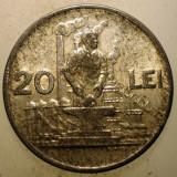 1.228 ROMANIA RPR 20 LEI 1951, Aluminiu
