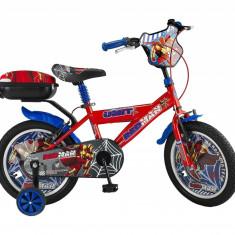 """Bicicleta Copii Umit Redman , Culoare Rosu , Roata 14"""" , OtelPB Cod:14060000001"""