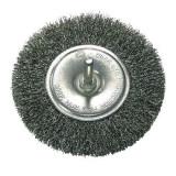 Perie sarma tip circular cu tija 100mm