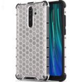 Husa XIAOMI Redmi Note 8 Pro – Gel TPU Honeycomb Armor (Transparent)