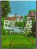 CPIB 16081 CARTE POSTALA - MUZEUL GOVORA. VEDERE DIN PARC