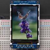 Display LCD TFT 320x240 de 2.2'' cu Slot MicroSD